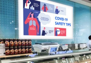 Digital Signage in Grocery Stores