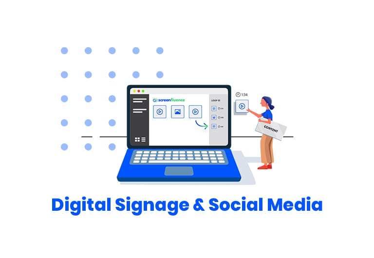 Digital Signage and Social Media