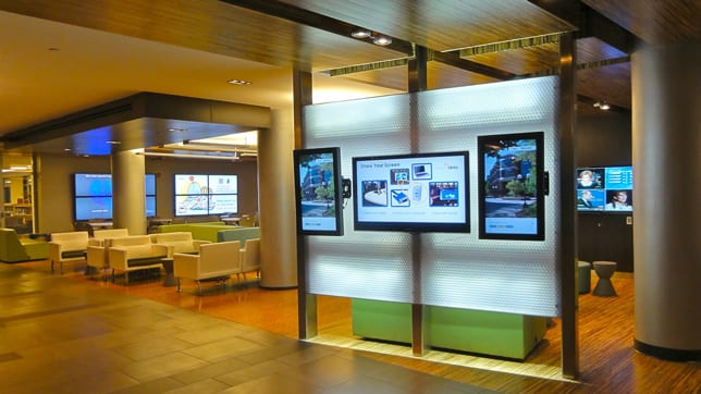 Digital Signage in Universities and Education